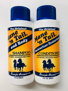 Mane n Tail Original travel combo shampoo and conditioner 60ml