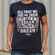 All That We See Or Seem Is But A Dream Within A Dream T-Shirt (Ladies) Ladies T-Shirt
