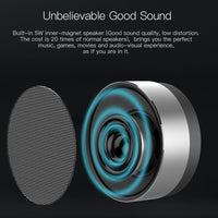 Bluetooth Mini Metal Portable Wireless 10-15 Hours Outdoor Waterproof Speaker Bluetooth Speaker