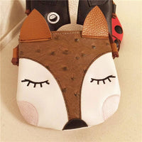 Girl Bags Cute Animal Designs Adorable Pu Bag 3 Desings Fox Girl Bag