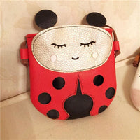 Girl Bags Cute Animal Designs Adorable Pu Bag 3 Desings Ladybug Girl Bag