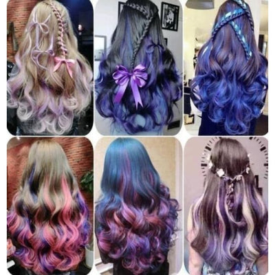 Hair Color Unisex Wax Mud Dye Molding Styling Coloring Cream Hair Color
