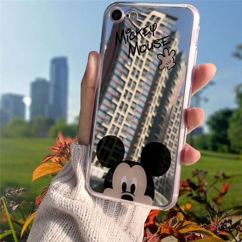 Iphone Case Cartoon Minnie/mickey Mouse Silicone Case For Iphone Series Mickey / For Iphone 5 5S Se Cell Phone Cases