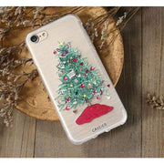 Iphone Case Lovely Christmas Emboss Soft Tpu Cover For Iphone Series Cell Phone Cases