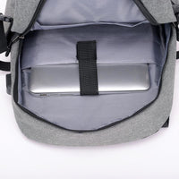 Men Backpack Casual Usb Charge Anti Theft 15 Inch Laptop Unisex Or Teenage School Travel Backpack In 3 Colors Men Backpack