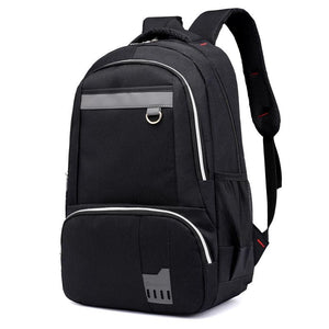 Men Backpack Nylon Unisex School Shoulder Backpack 5 Colors Black Men Backpack
