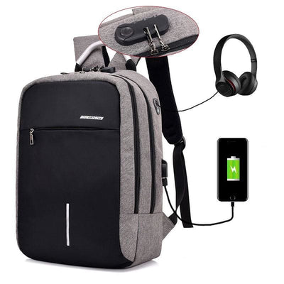 Men Backpack Usb Charge Anti Theft 15 Inch Laptop Travel Backpack In 3 Colors Men Backpack