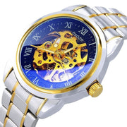 Men Watch Business Stainless Steel Strap Mechanical Waterproof Wristwatch Men Watch