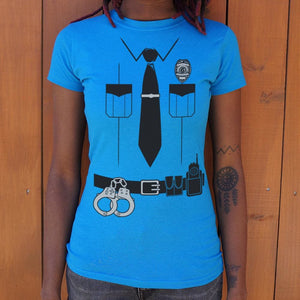 Officer Friendly T-Shirt (Ladies) Ladies T-Shirt