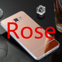 Samsung Galaxy Case Slim Mirror Silicone Case Suitable For S A J Models Rose / S9 Plus Cell Phone Cases