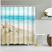 Shower Curtain 1Pc Colorful Printed Waterproof In 6 Modern And Unique Designs 170922 / 150*180Cm Shower Curtain