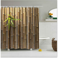 Shower Curtain Polyester Washable Decor Colorful Curtains 6 Designs 0741 / 150*180Cm Shower Curtain