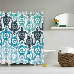 Shower Curtains Owl Print Bath Products Decor With Hooks In 6 Designs 0420 / 150*180Cm Shower Curtain