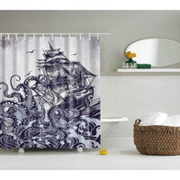 Shower Curtains Owl Print Bath Products Decor With Hooks In 6 Designs Shower Curtain