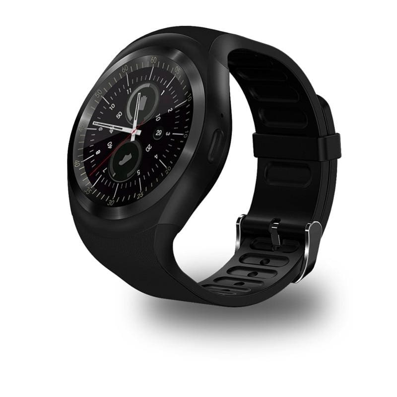 Smart Watch Bluetooth Android Phone Call Camera Information Display Black / Standard Men Watch