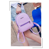 Women Backpack Leather Leisure Travel Bag Or School 5 Colors Women Backpack