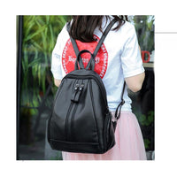 Women Backpack Pu Leather For Adolescent Or Girls In 5 Great Colors Women Backpack