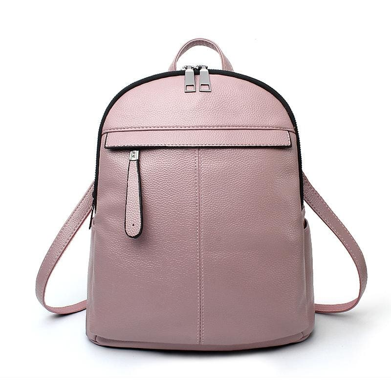 Women Backpacks Casual Backpack For Teens & Girls Capacity 5 Colors Pink / 28X30X12Cm Women Backpack