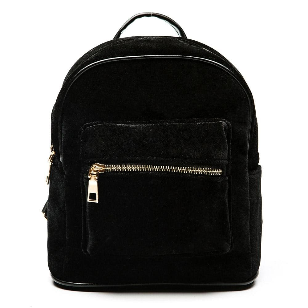 Women Backpacks Velvet Casual Style Girls 3 Colors Black / 23X25X12Cm Women Backpack