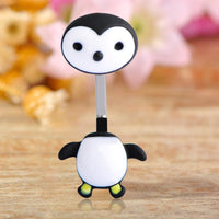 Women Belly Button Ring Penguin Sexy Body Jewelry Belly Ring