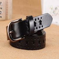 Women Belt With Genuine Leather Top Quality In 5 Rich Colors Black / 100Cm Belt