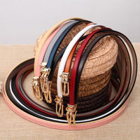 Women Belts 100% Genuine Leather Metal Pin Buckle Vintage Belts In 9 Colors Belt