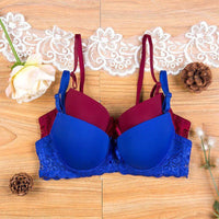 Women Bra Adjustable 3/4 Cup Push Up Bra 7 Colors Bra