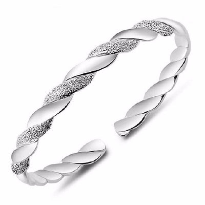 Women Bracelet Silver Bangle Luxury Design Bangle Fine Bracelets