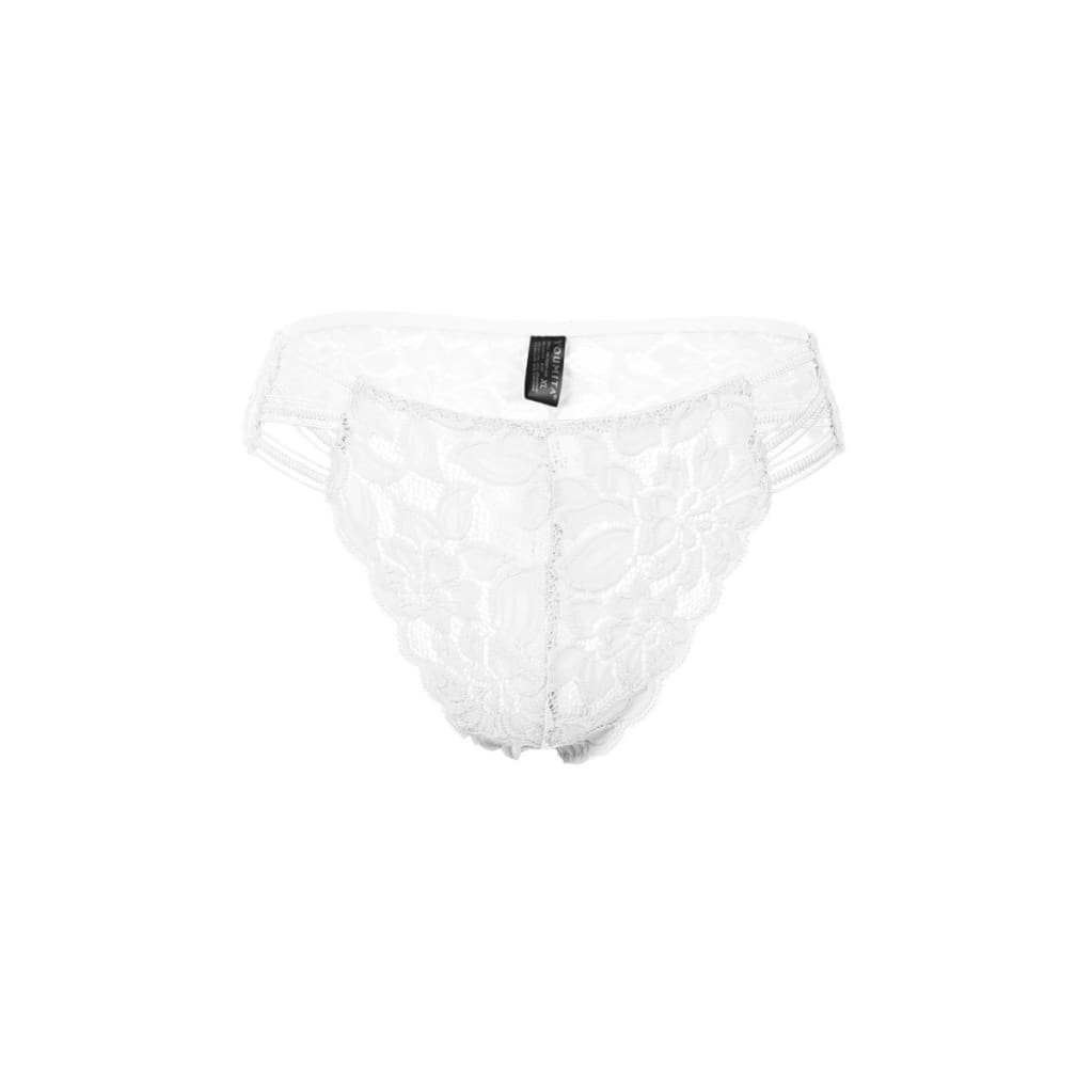 Women Caged Floral Lace Thong Thong