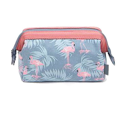 Women Cosmetic Bag Makeup Zipper Organizer Bag 4 Colors Wallet