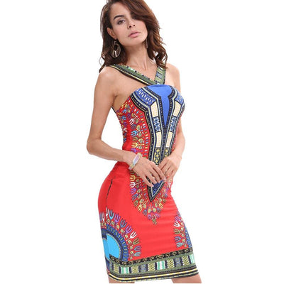 Women Dress Bodycon Sexy Hip Sleeveless Dress 4 Colors Dresses