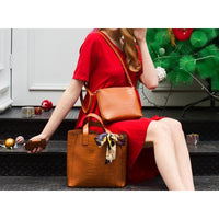 Women Handbag 3 Pcs Set Composite Tote Bag In 4 Colors Tote Bag