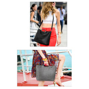 Women Handbag Casual Stone Pattern 3 Pcs Set Shoulder Bag 4 Colors Shoulder Bag