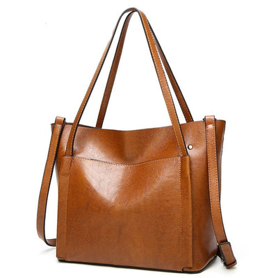Women Handbag High Quality Leather Tote Bag In 4 Colors Tote Bag