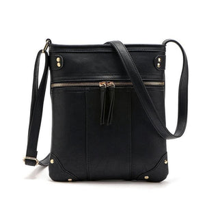 Women Handbag High Quality Purse Shoulder Cross Body Bag In 5 Colors Black / (20Cm<Max Length<30Cm) Cross Body Bag