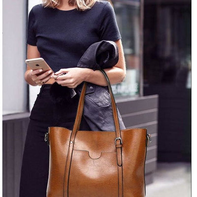 Women Handbag Large Capacity High Quality Top-Handle Tote Bag In 9 Colors Tote Bag