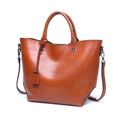Women Handbag Large Capacity High Quality Tote Bag 4 Colors Brown / 40X28X13Cm Tote Bag