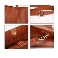 Women Handbag Large Capacity Leather High Quality Casual Tote Bags In 2 Colors Tote Bag