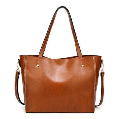 Women Handbag Large Capacity Quality Leather Vintage Tote Bag Tote Bag