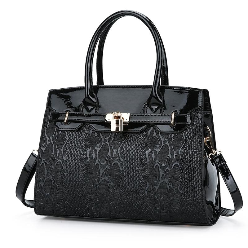 Women Handbag Luxury Leather High Quality Satchel Bag In 4 Colors Black Satchels