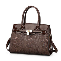 Women Handbag Luxury Leather High Quality Satchel Bag In 4 Colors Brown Satchels