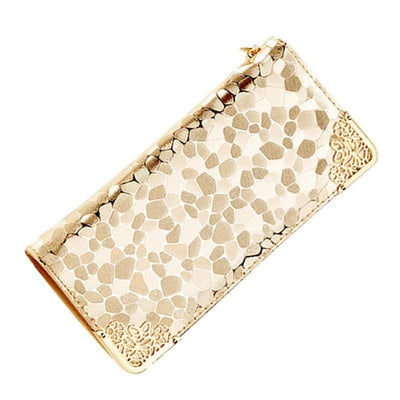 Women Long Wallets Pu Leather Card Holders 9 Colors Wallet