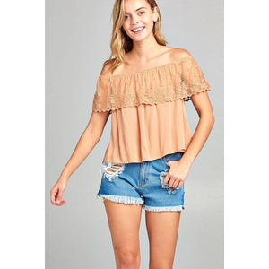 Women Off The Shoulder Top. Tops