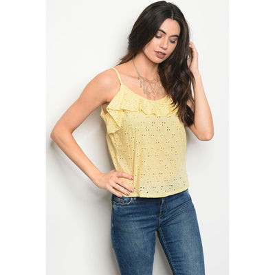 Women Open Back Tank Top Tops