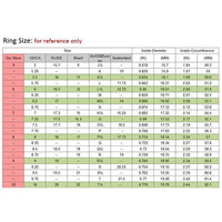 Women Ring Classic Design Cz Cubic Zirconia Stone 1Pc Silver Color Rings