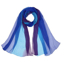 Women Scarf Spring Silk Shawl Imitated Silk 17 Colors Color 9 Scarves