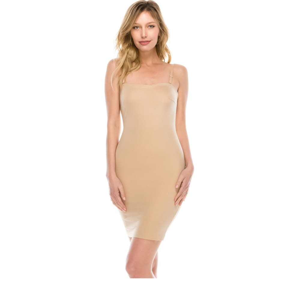 Women Seamless Shaping Slip Dress Shapewear