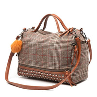 Women Shoulder Bag With Rivets New Arrival 2 Colors Shoulder Bag