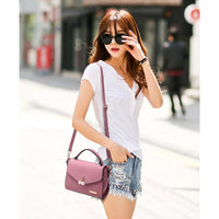 Women Small Messenger Casual Shoulder Bag Pearl 6 Colors Shoulder Bag