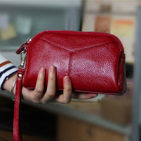 Women Wallet Genuine Leather Credit Card Holder 9 Colors Wallet